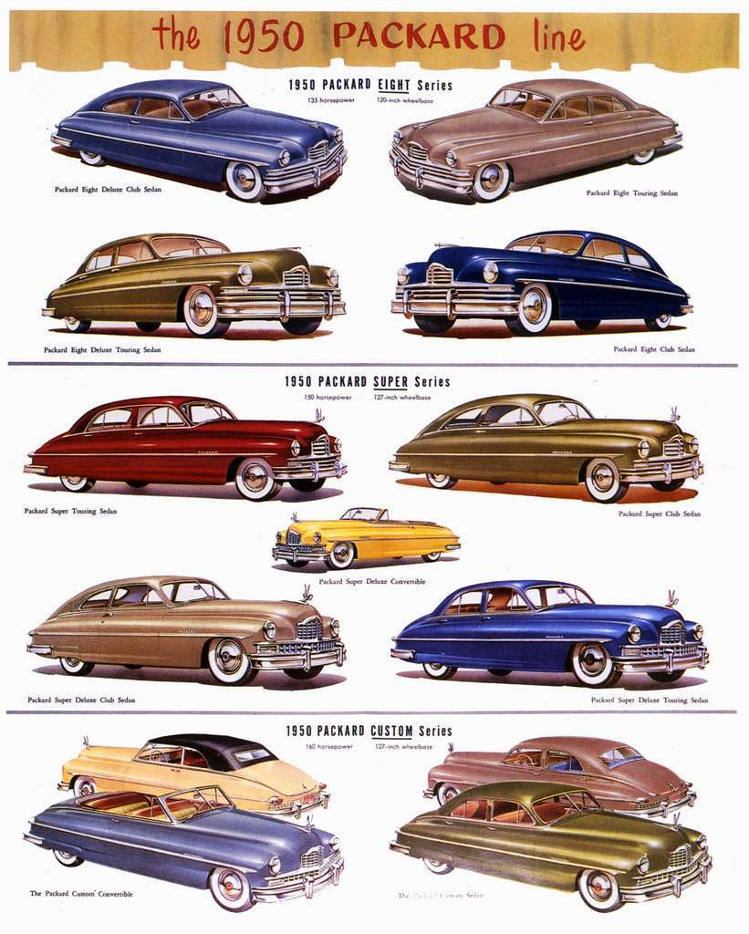 1950 PACKARD ADVERT