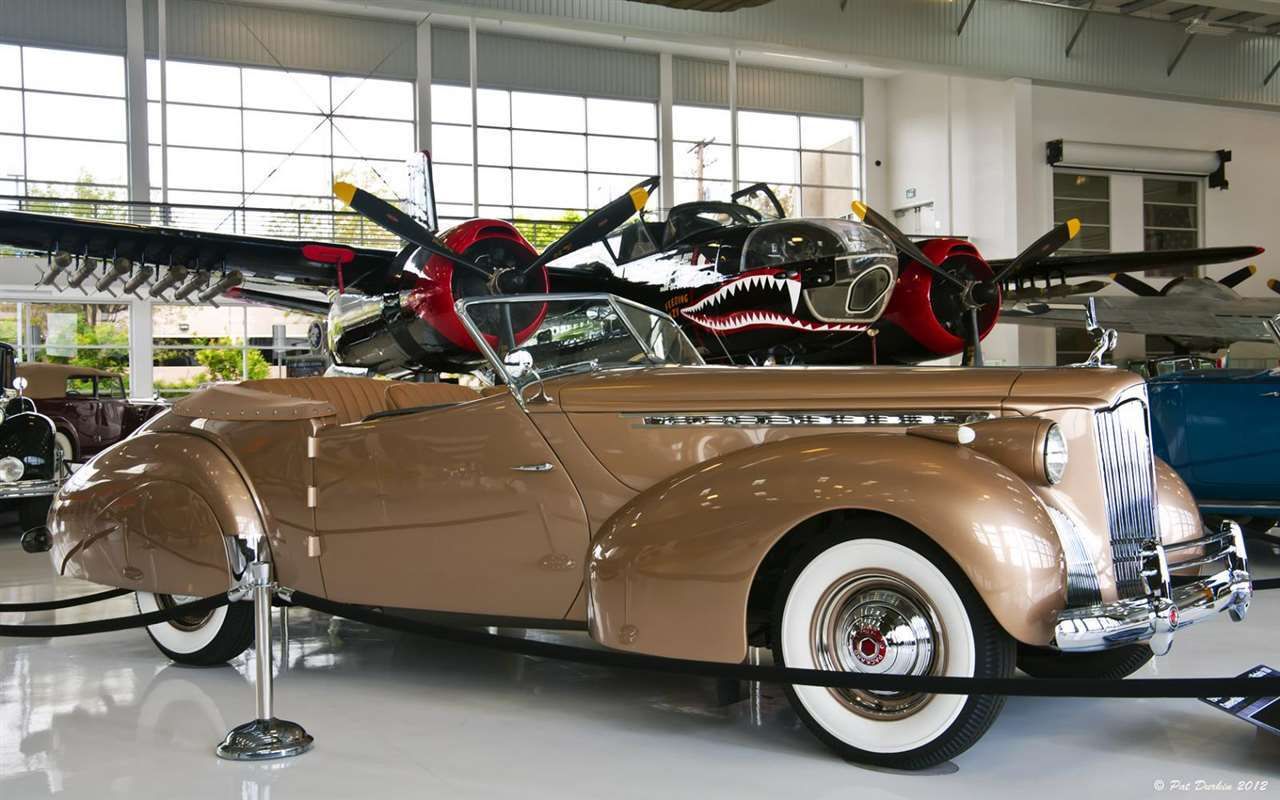 1940 Packard Darrin Custom One Eighty Victoria Convertible