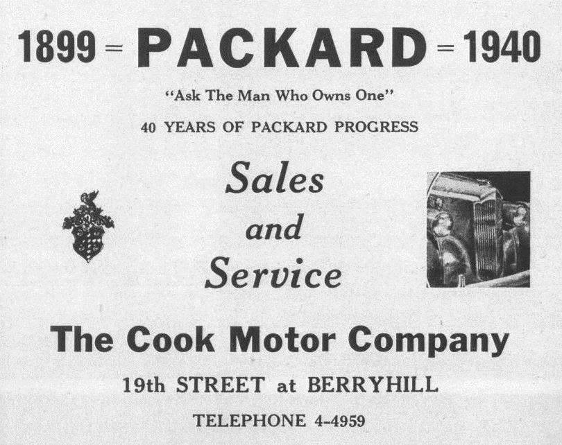 The Cook Motor Company