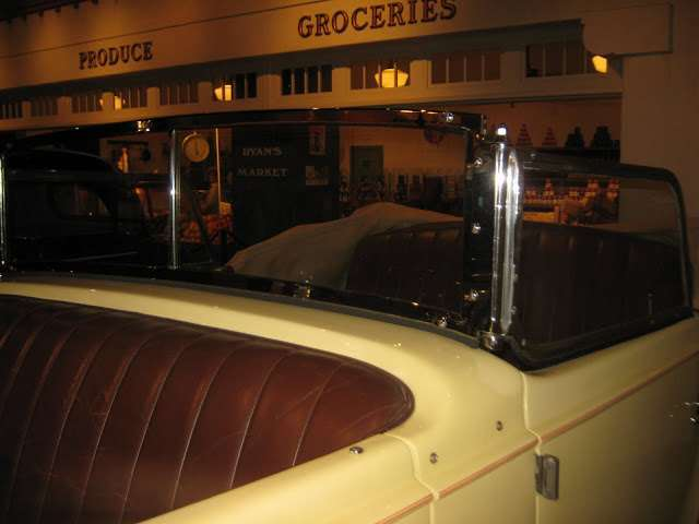 1939 Super Eight Phaeton by Derham at the Petersen Automotive Museum Los Angeles 4th October 2012. U
