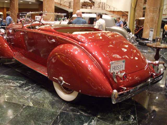 1934 1108 Twelve Sport Phaeton at Nethercutt Collection 5th Oct 2012