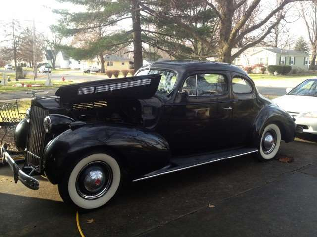1939 PACKARD CLUB COUPE 1701 1295
