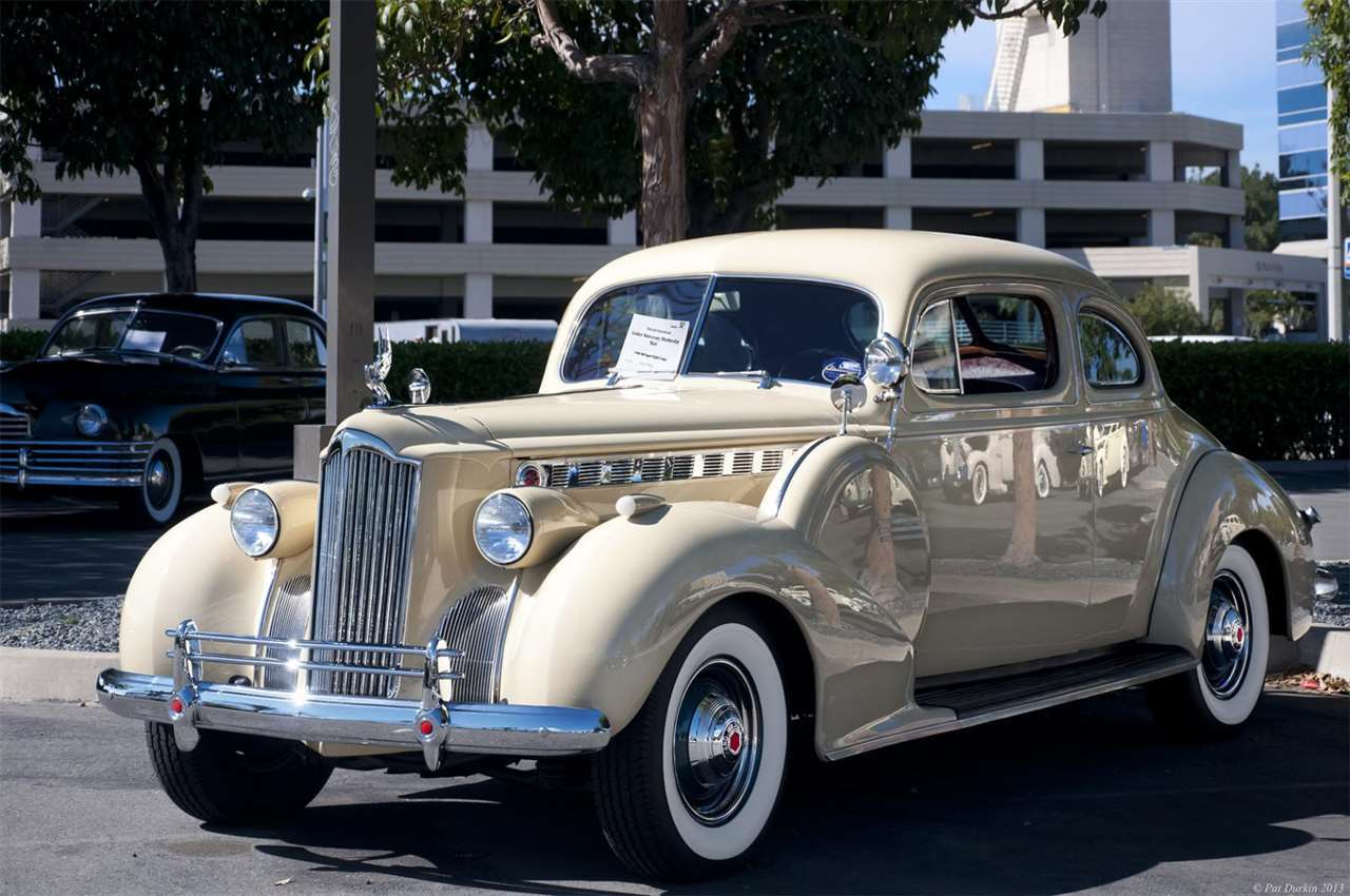 Packard Motor Car Information - 1940 Packard,One Sixty,Coupe