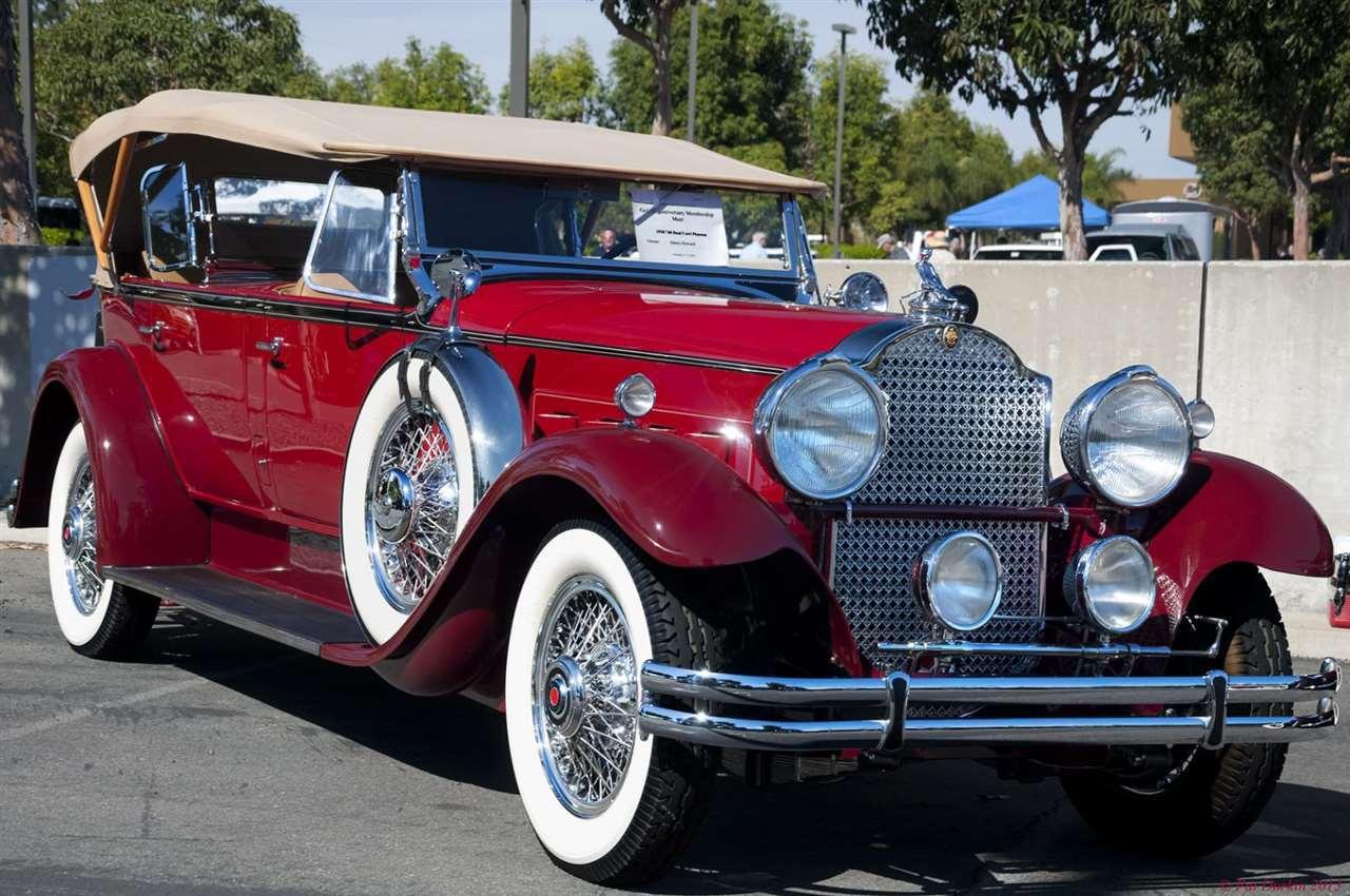 1930 Packard 740 Dual Cowl Phaeton - front view