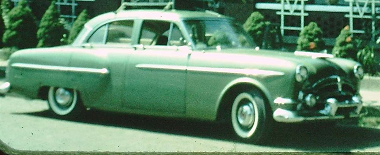 1953 Packard Clipper 4 door