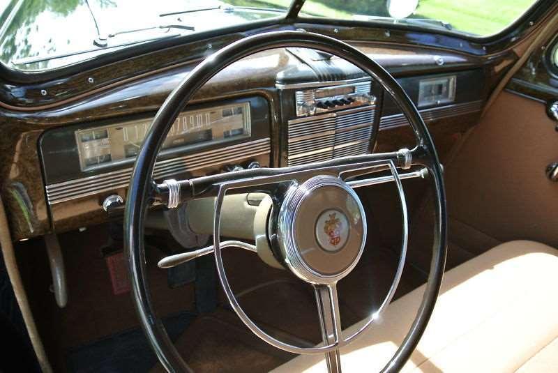 1942 Packard 160 driver side