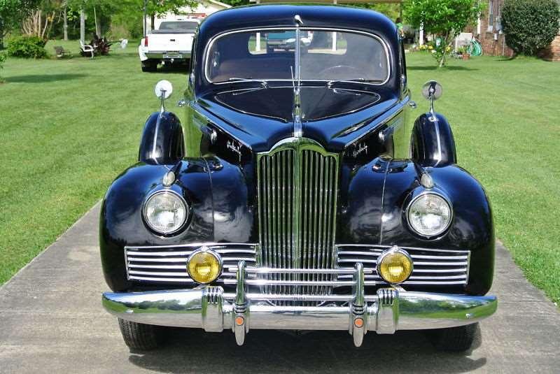 1942 Packard 160 Side Mounted