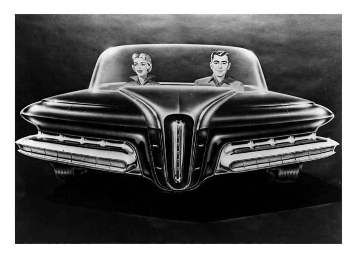 Packard Predictor (Ghia), 1956 - Design Proposal