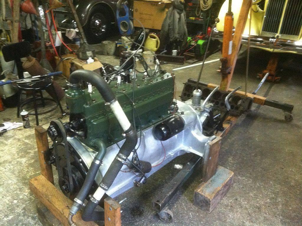 '28 6 cyl engine