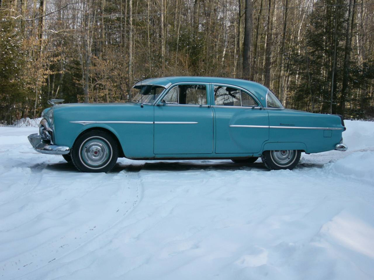 '51 Packard 300 in winter '14