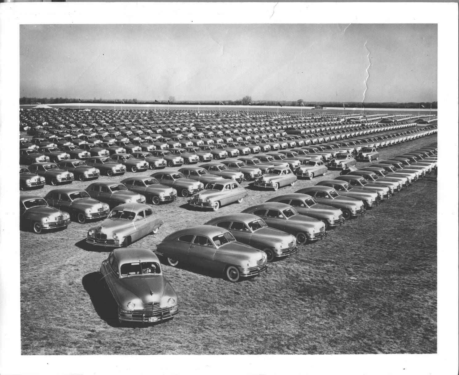 1949 PACKARD GOLDEN ANNIVERSARY PHOTO-B&W - 1 of 2