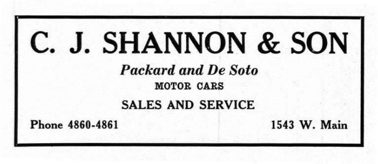C. J. Shannon & Son