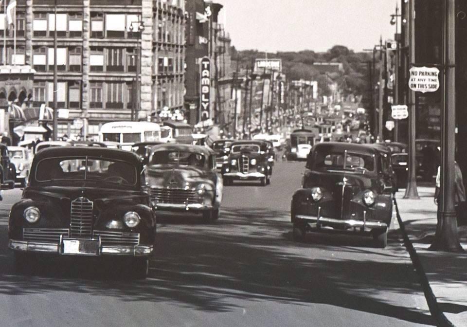 1947 Packard in Ottawa Canada circa 1947