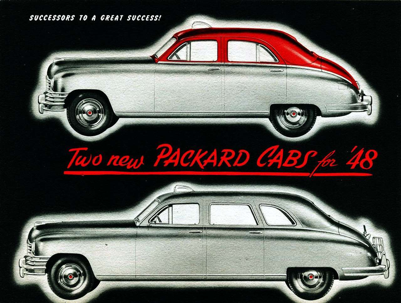 1948 Packard Cabs
