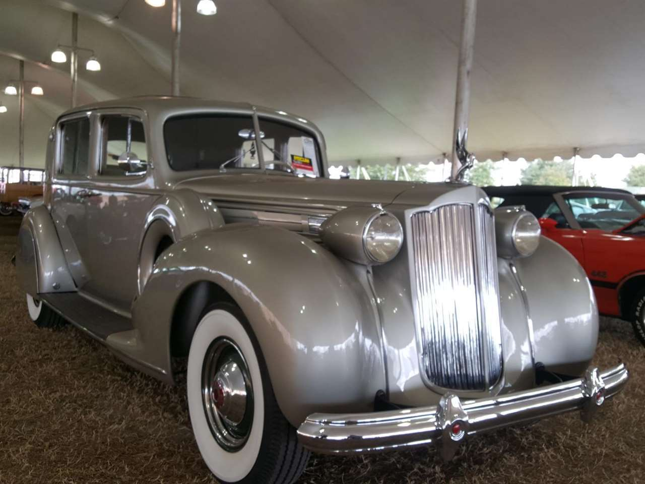 1938 Packard 12 Club Sedan