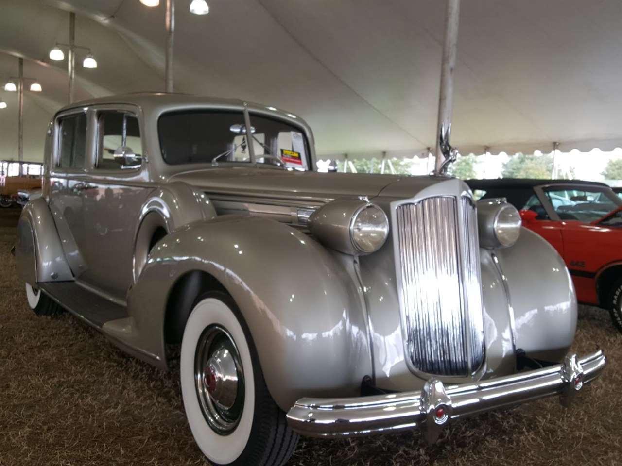 1938 Packard 12 Club Sedan