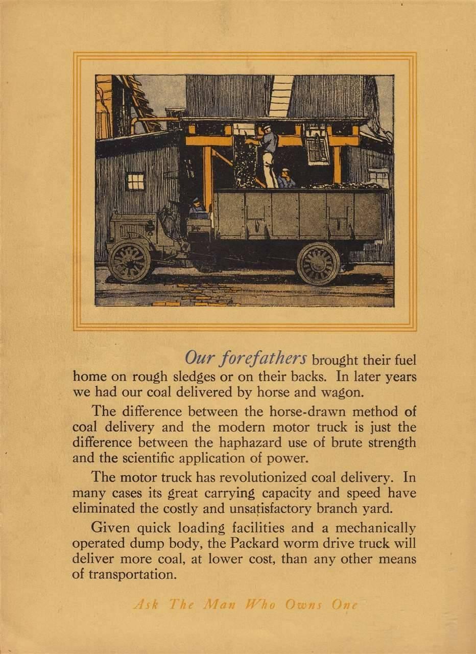 Packard Truck Advert 16