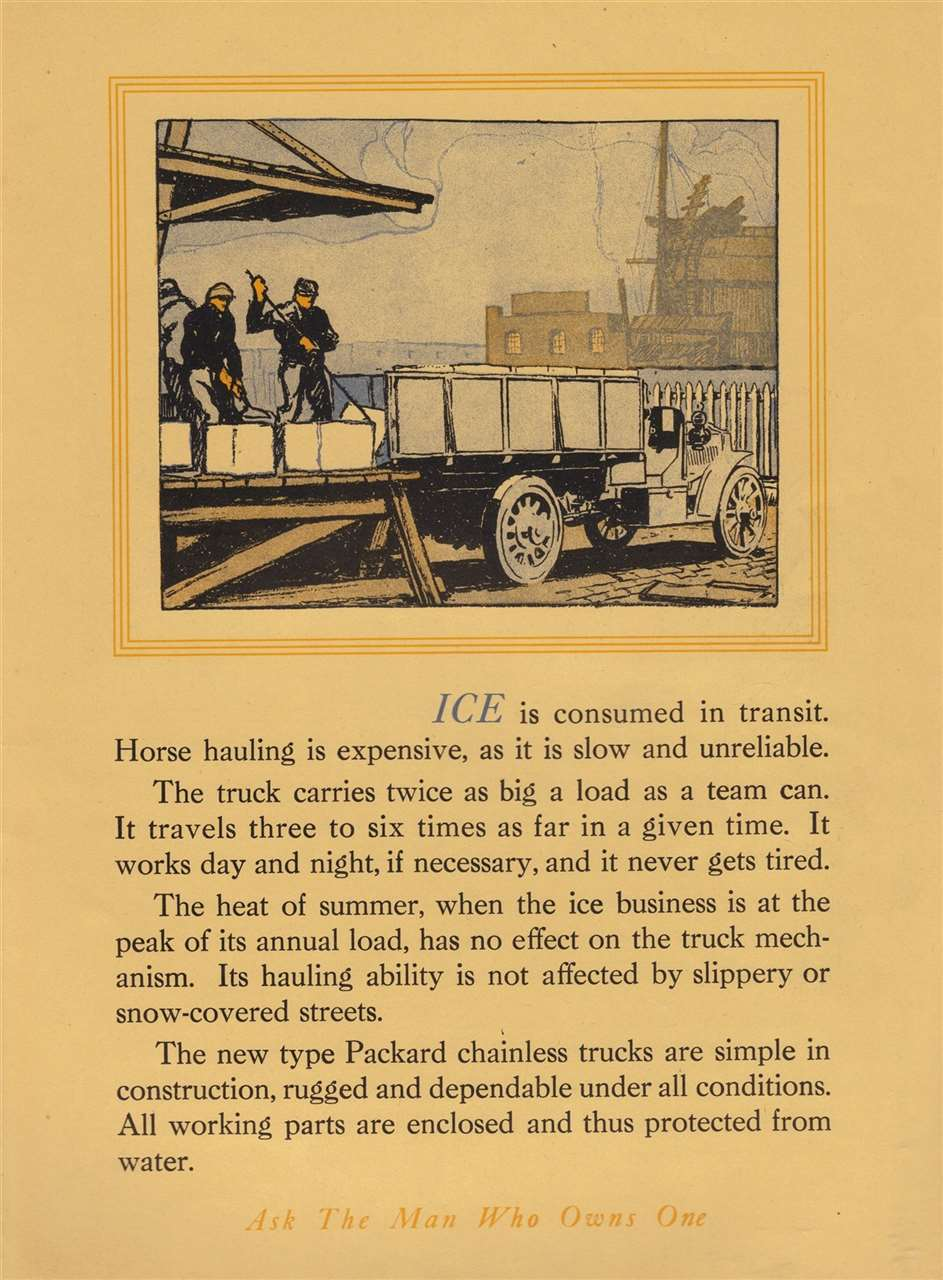 Packard Truck Advert 17