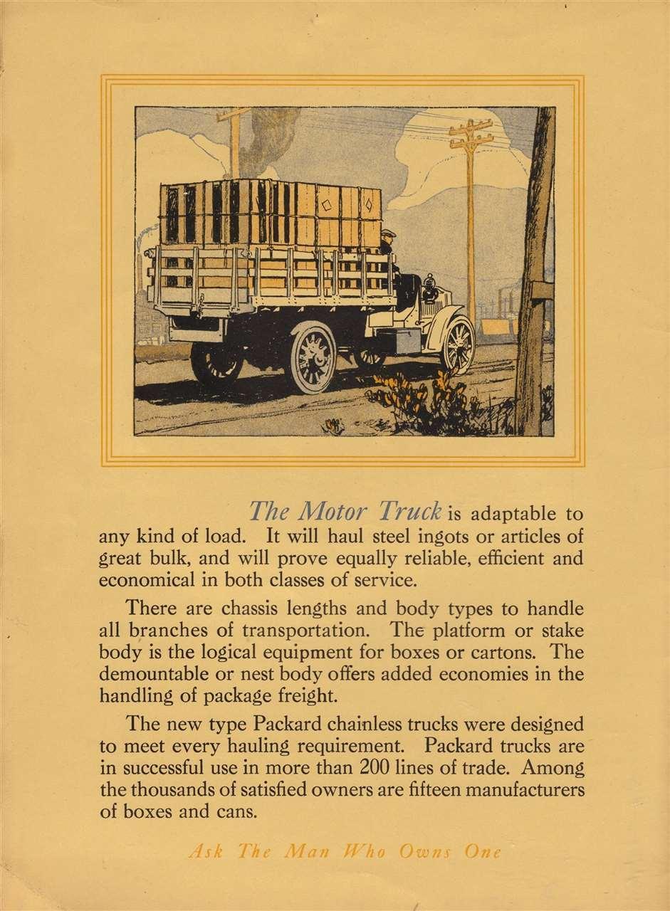Packard Truck Advert 18