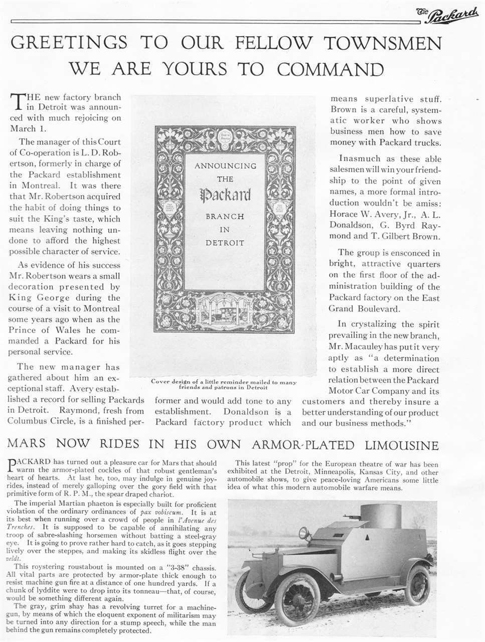 Packard Truck Advert 32