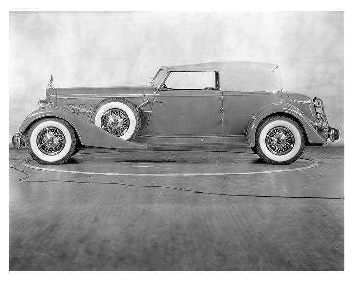 1934 Packard 12 Model 1108 Convertible Victoria