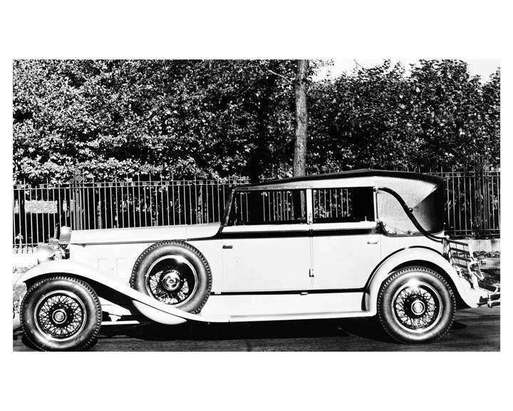 1931 Packard Convertible Sedan Custom Body by Dietrich
