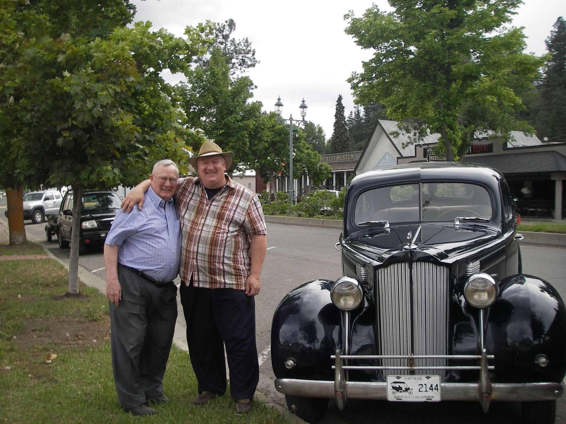 '39 Six 4 DR touring car