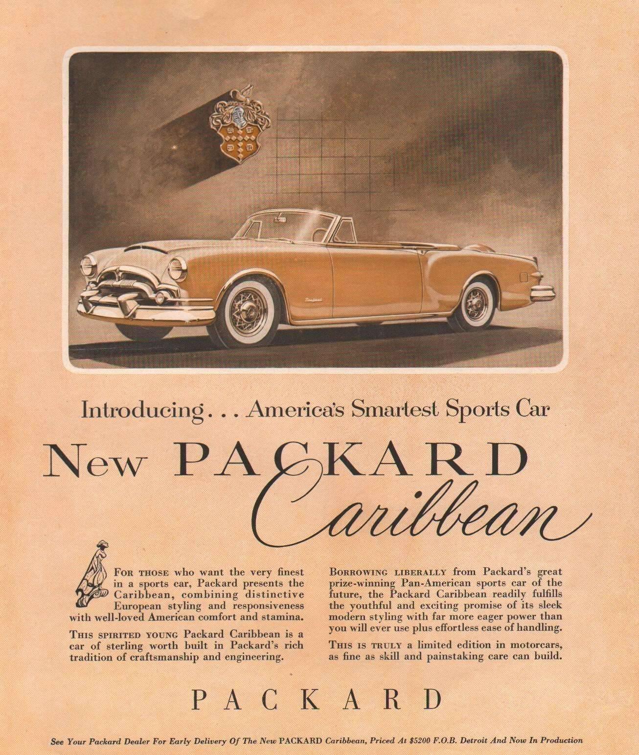 1953 Caribbean Convertible Coupe