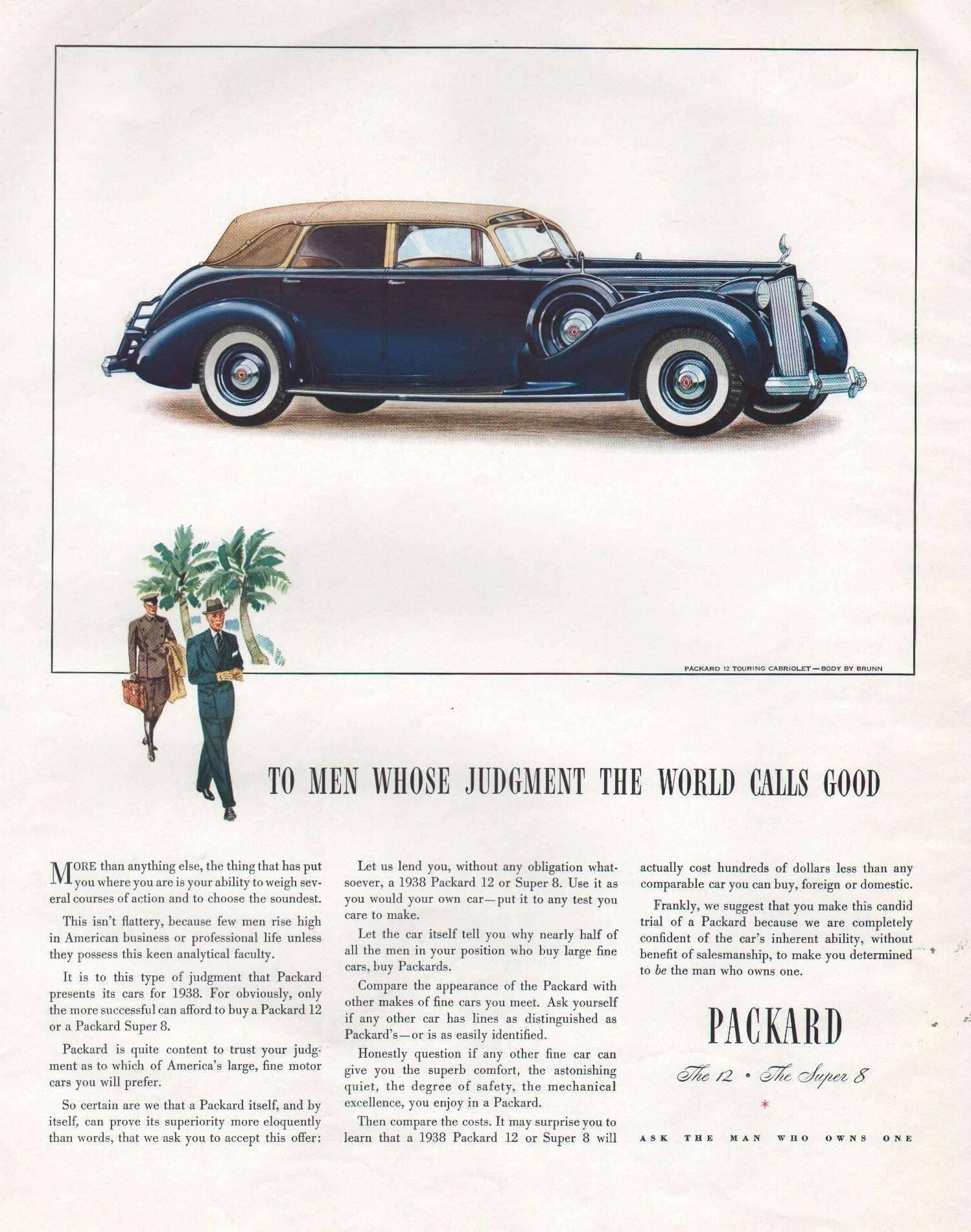 1938 Twelve Touring Cabriolet - Body by Brunn