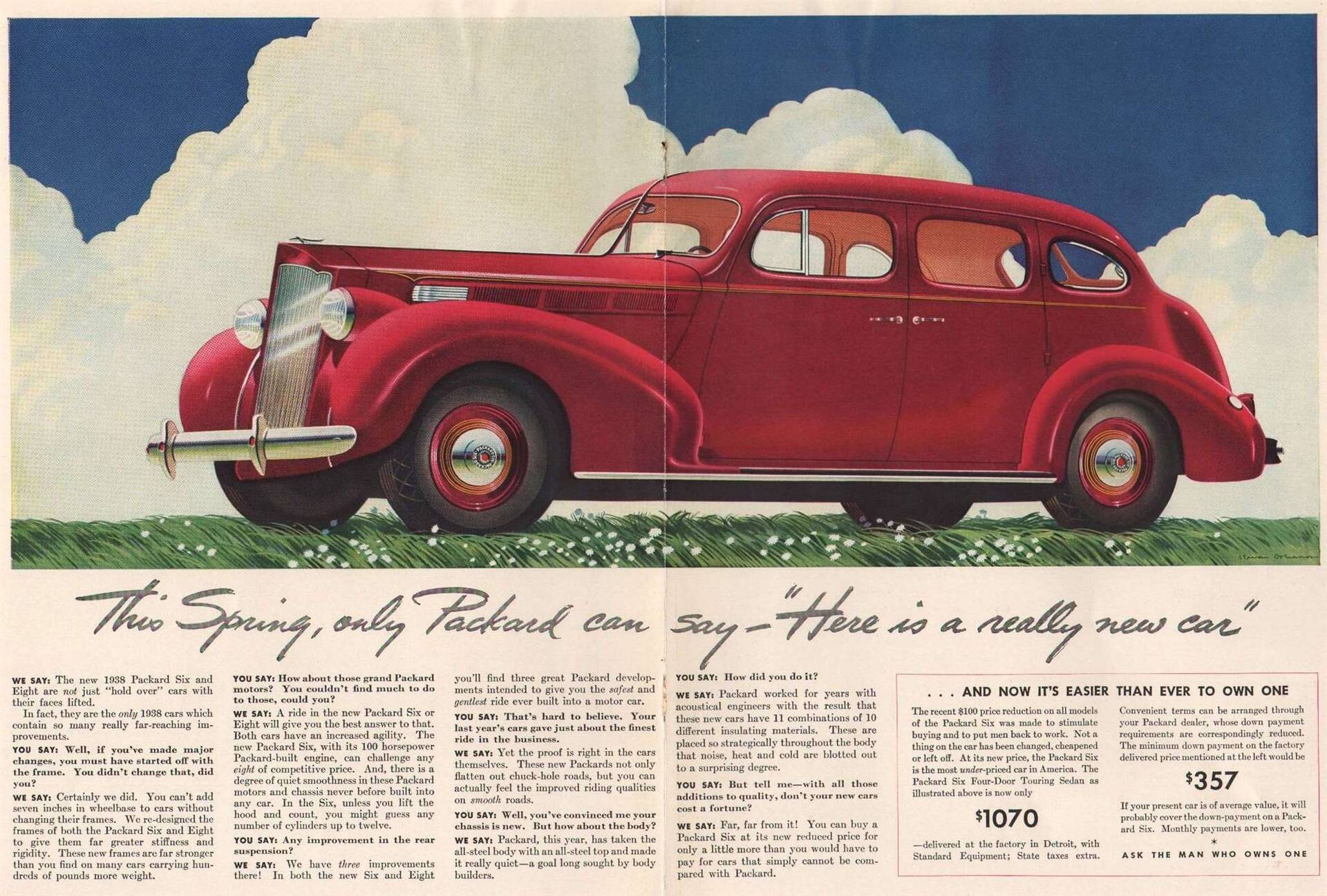 1938 Six Four-Door Touring Sedan