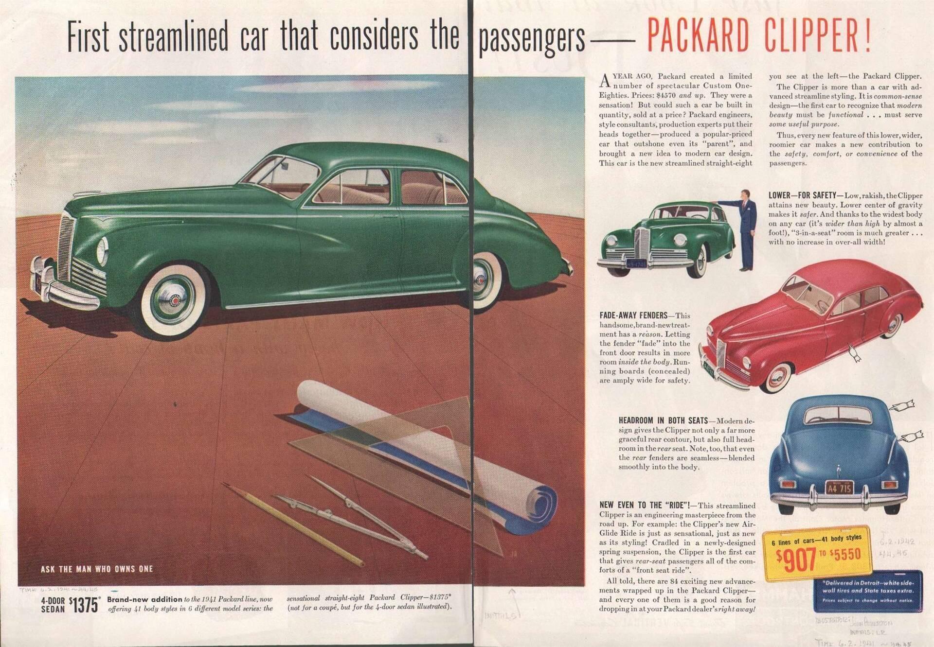 1941 Packard Clipper Sedan