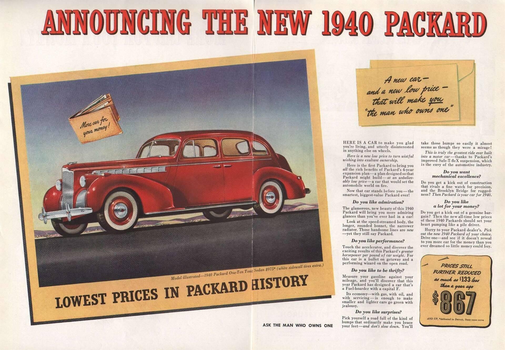 1940 One-Ten Touring Sedan