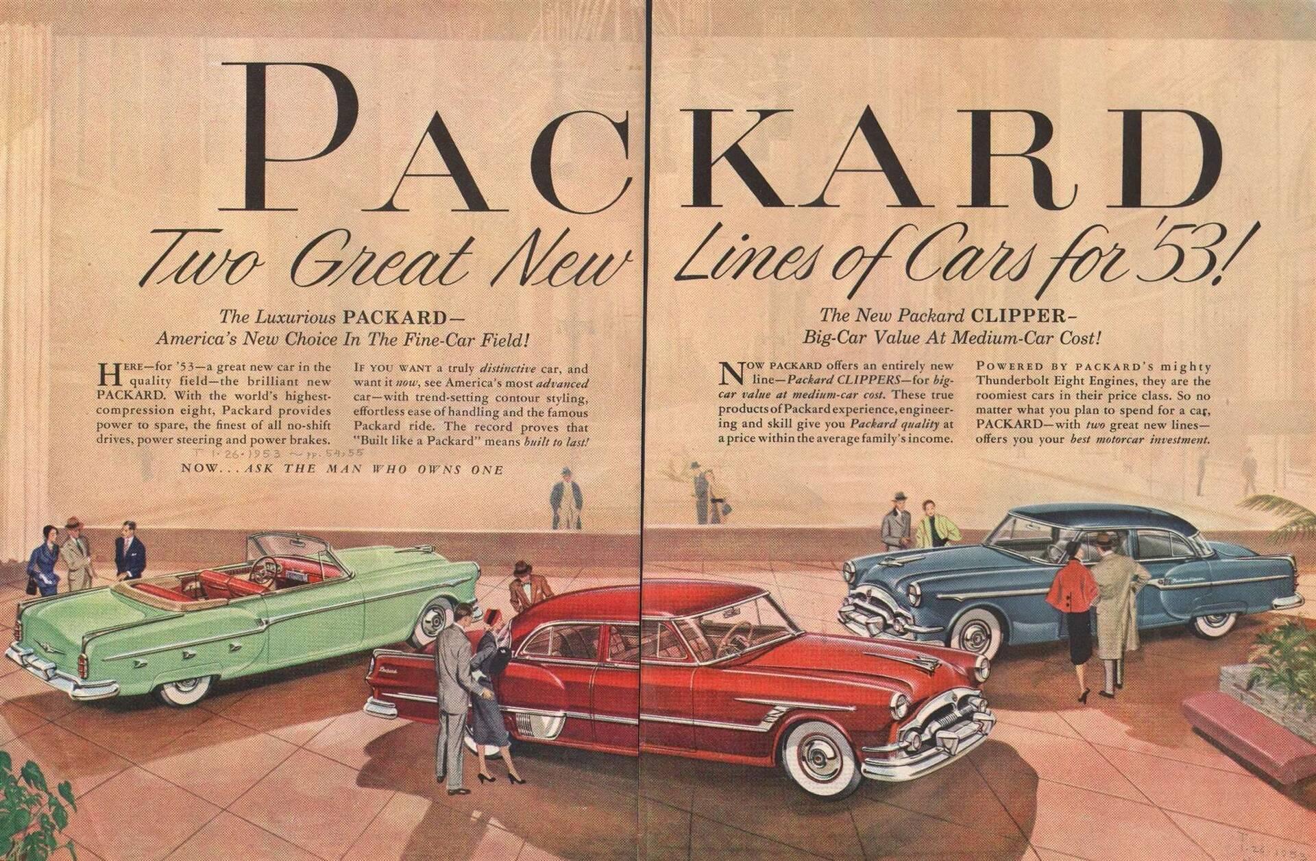 1953 Packard & Clipper