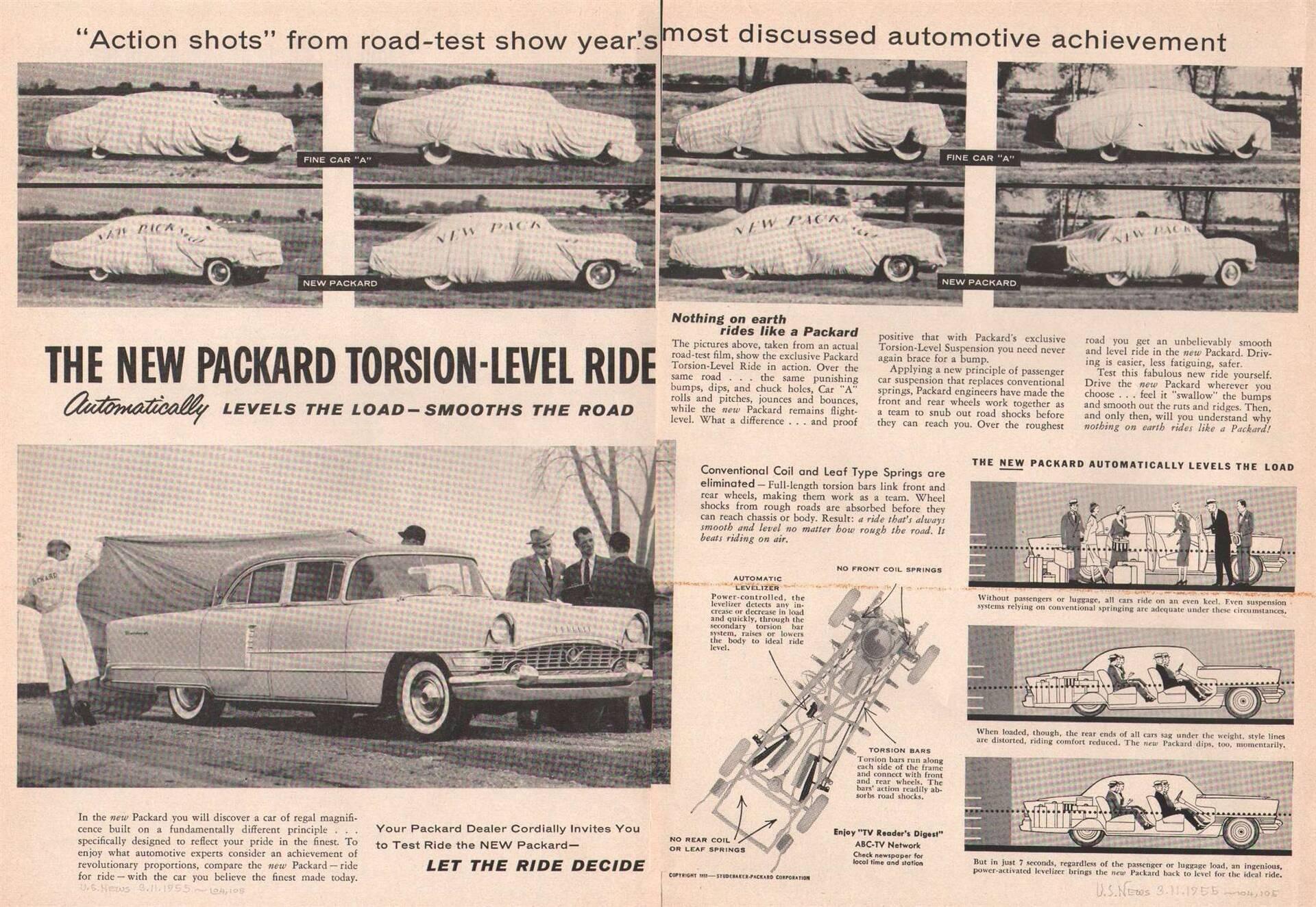 1955 Torsion Level Suspension