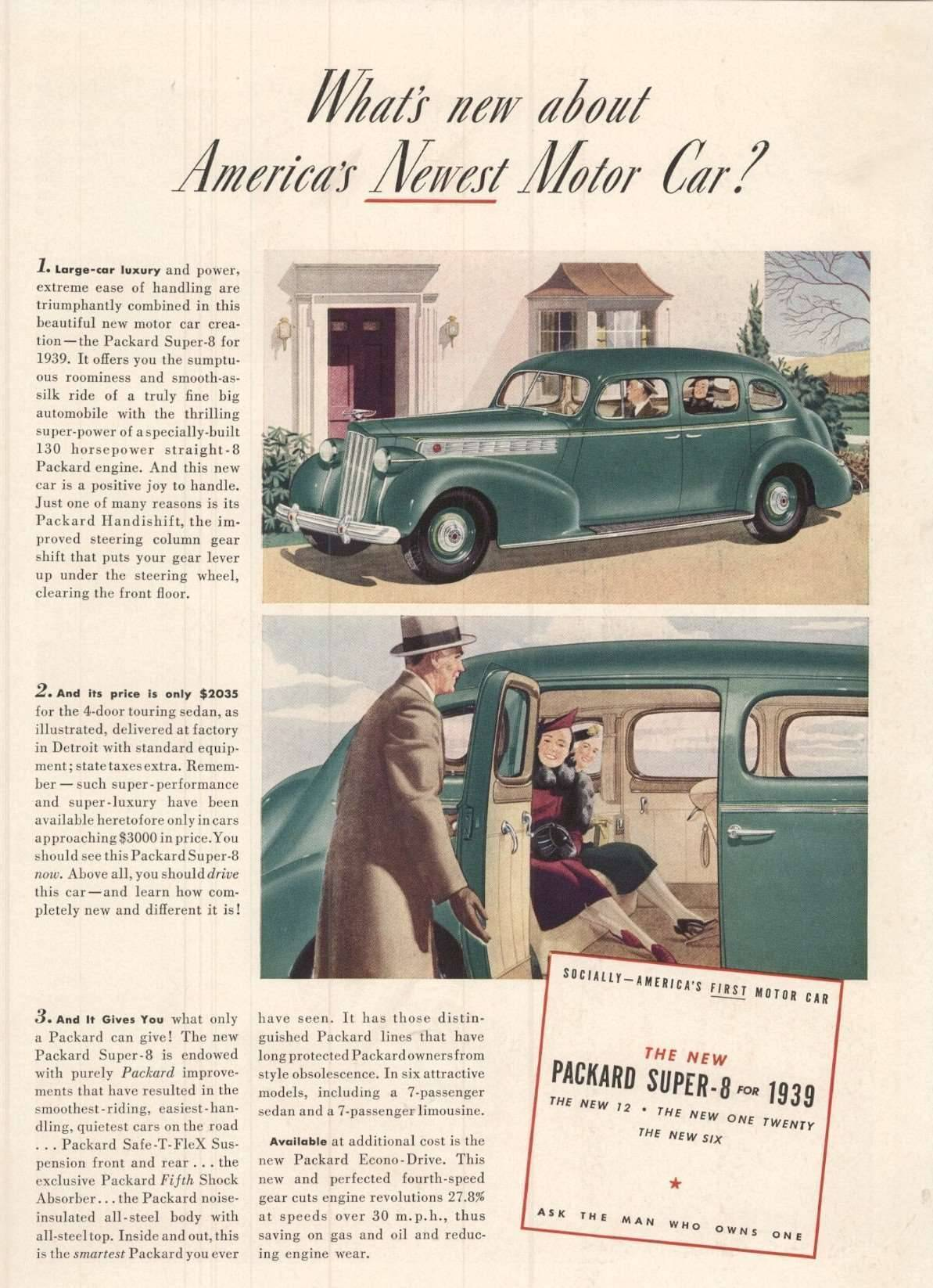 1939 Super 8 - Advertisement