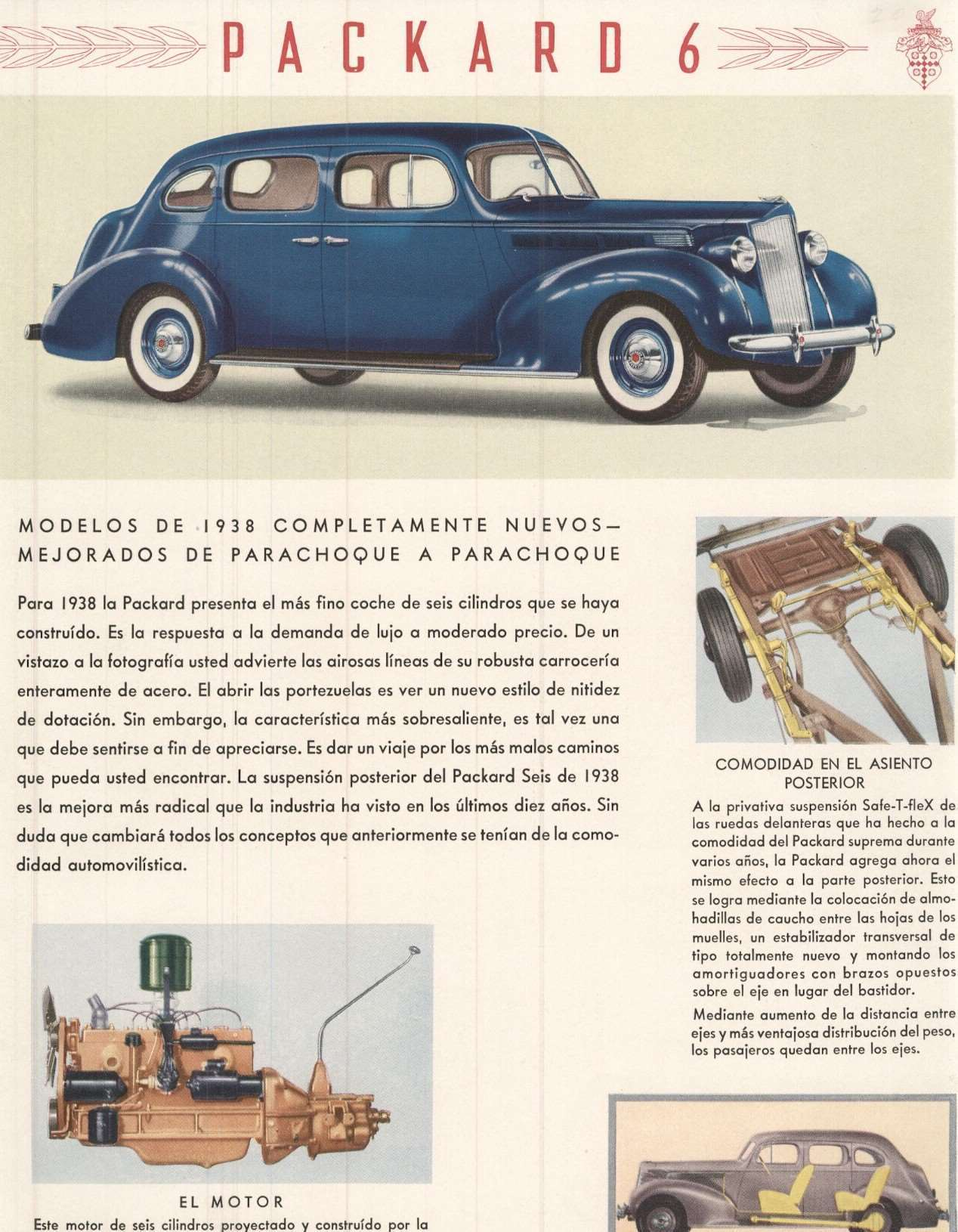 1938 Six - Advertisement (Spanish)