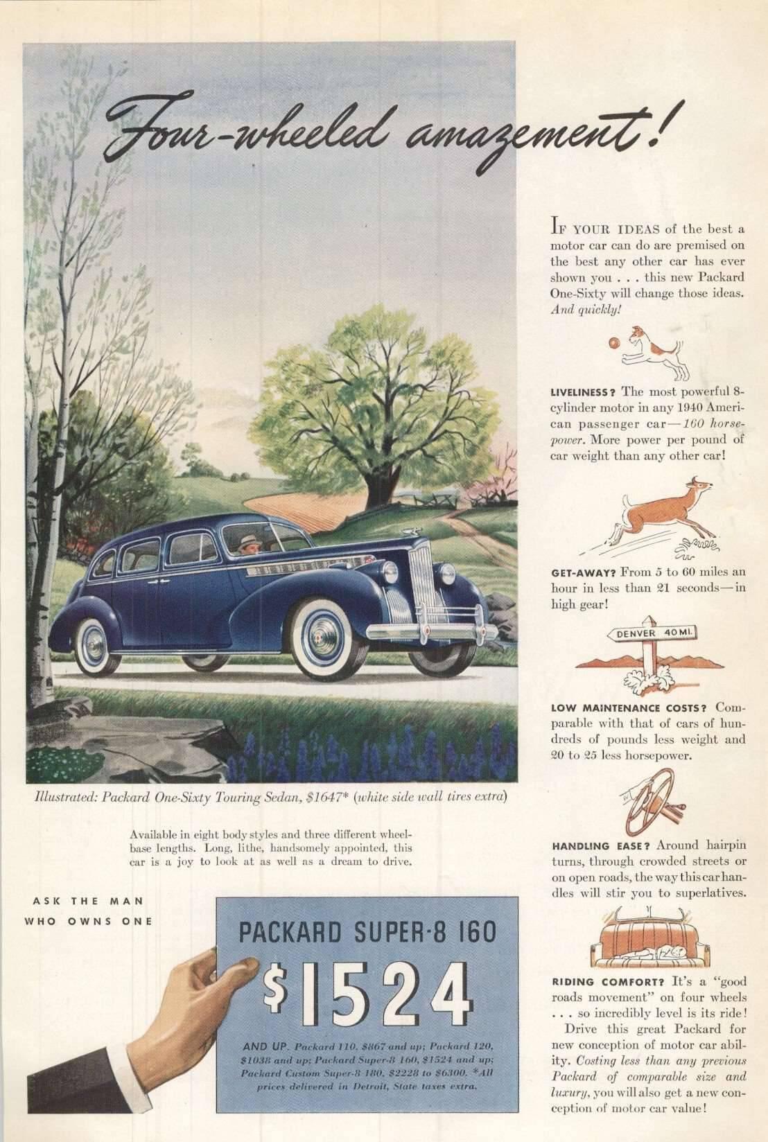1940 One Sixty Touring Sedan