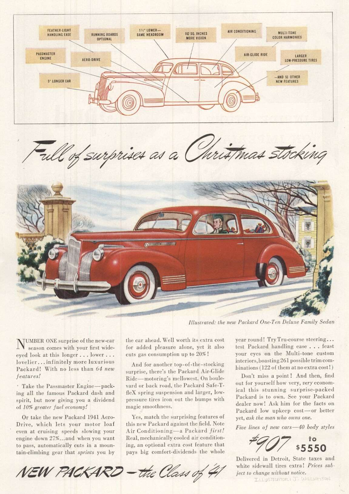 1941 One-Ten Deluxe Family Sedan