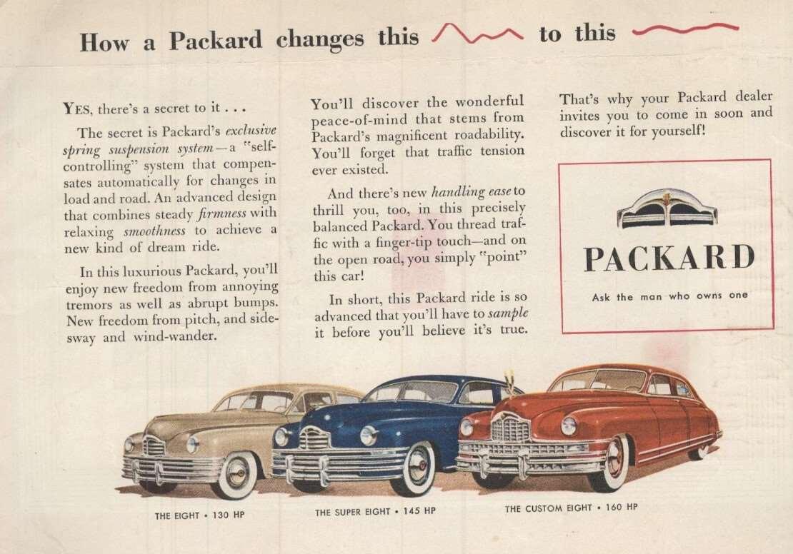 1948/49 22nd Series - Eight, Super Eight & Custom Eight