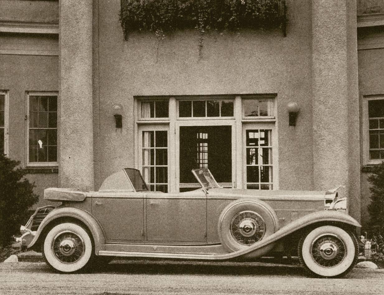 1932 Packard Individual Custom Sport Phaeton