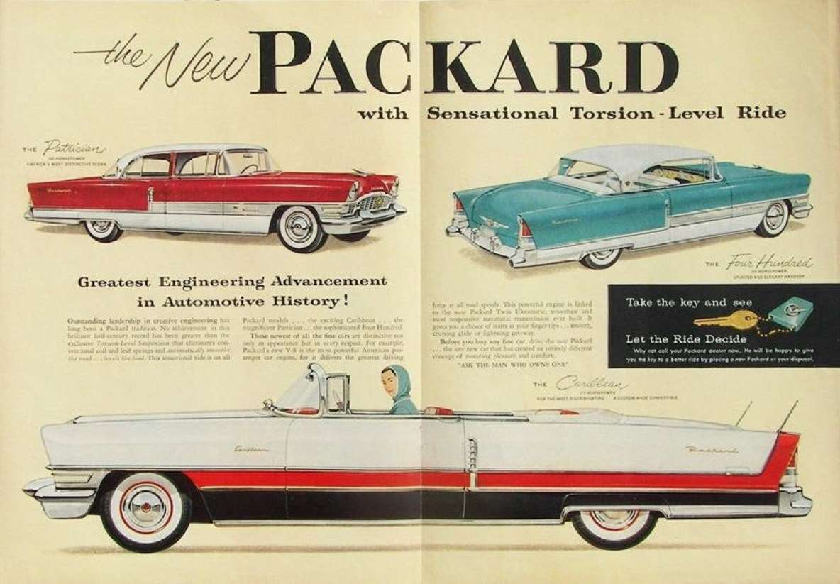 1955 Sr Packard Advertisement