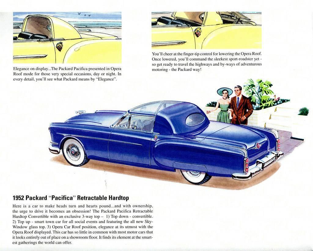 1952 PACKARD PACIFICA RETRACTABLE HDTP CONV CONCEPT