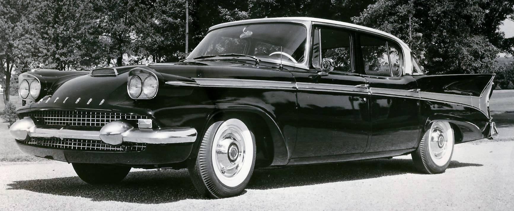 1958 Packard Four Door Town Sedan