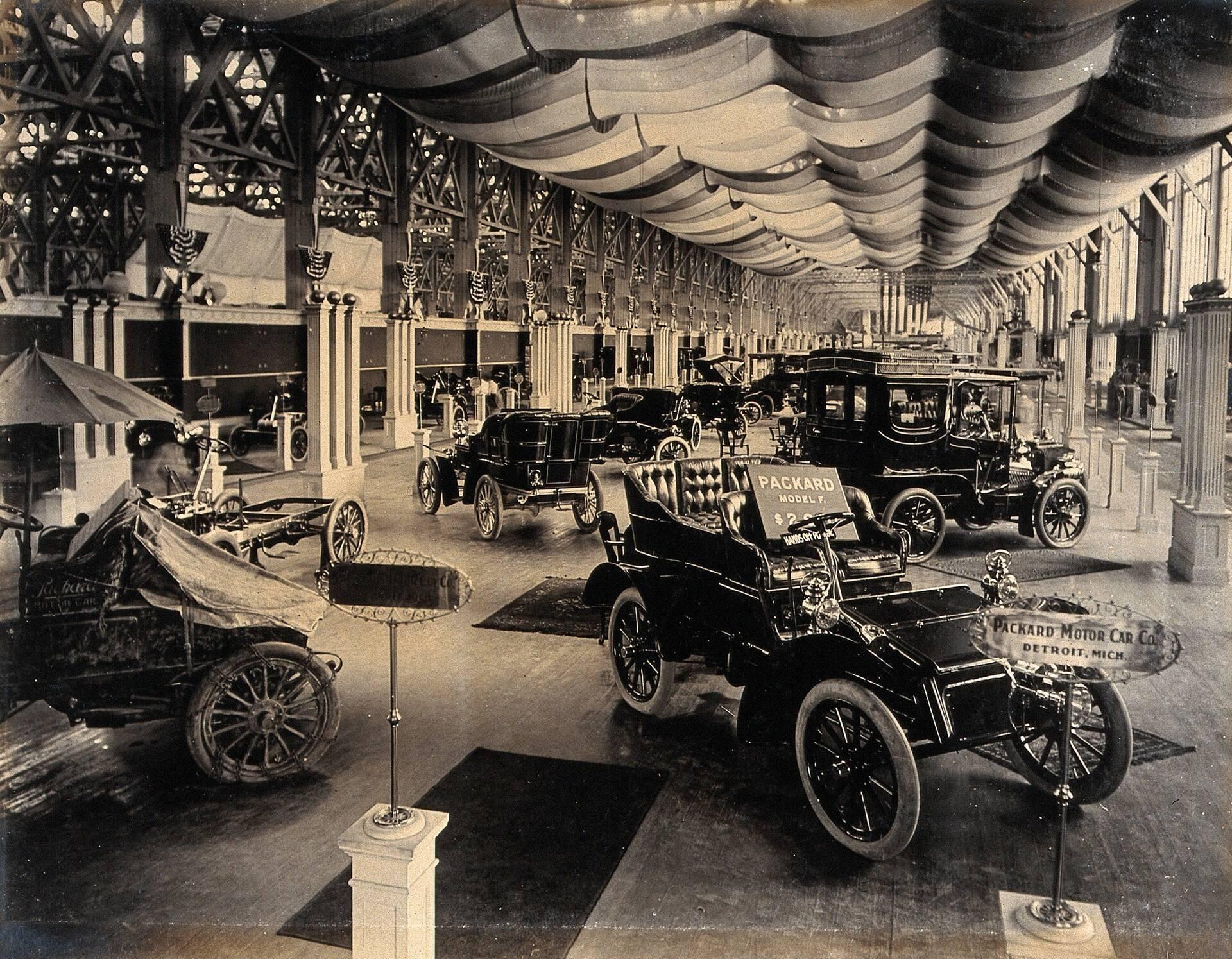 1904 production range