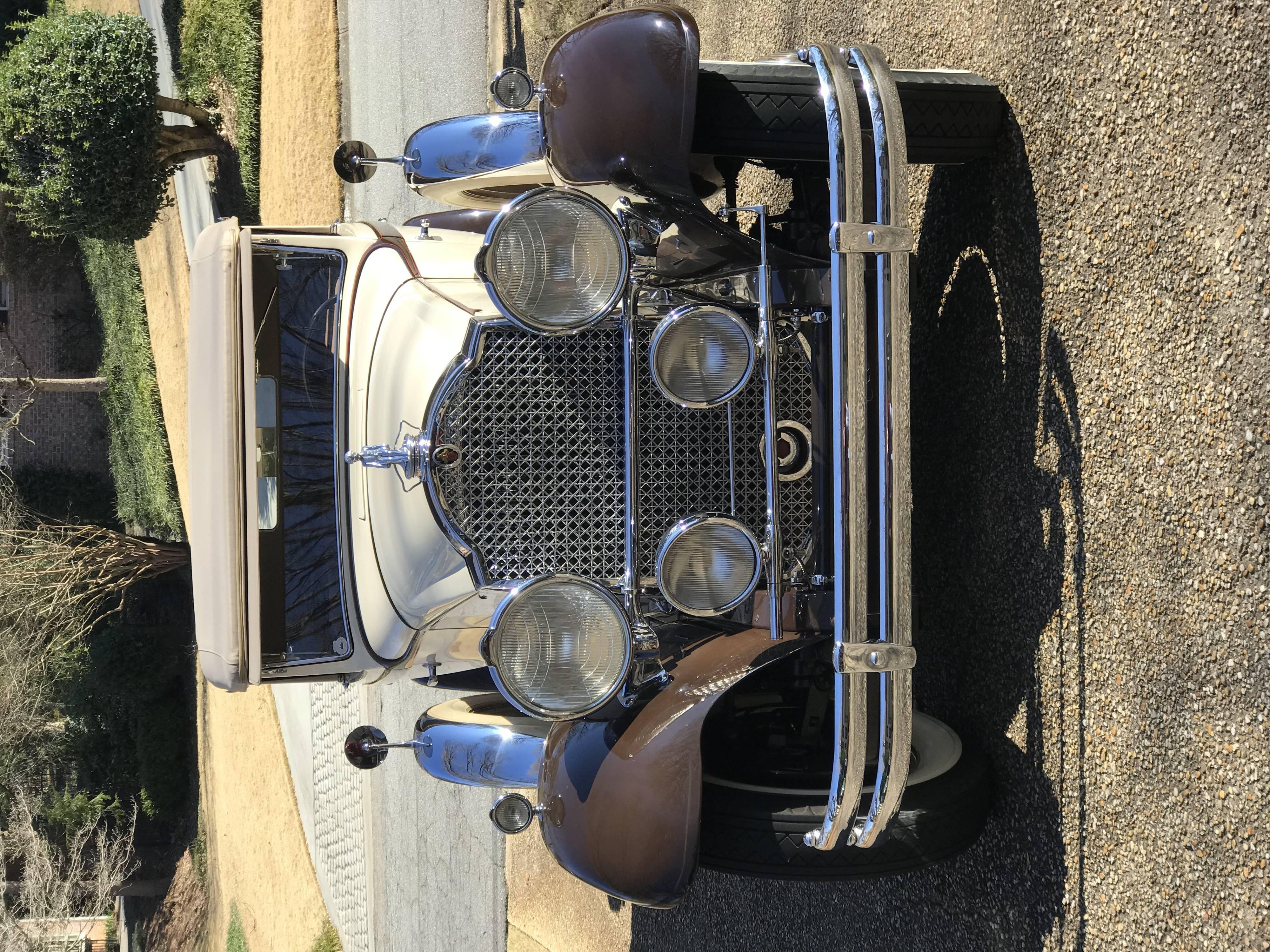 840 Individual Custom Convertible Sedan, Dietrich