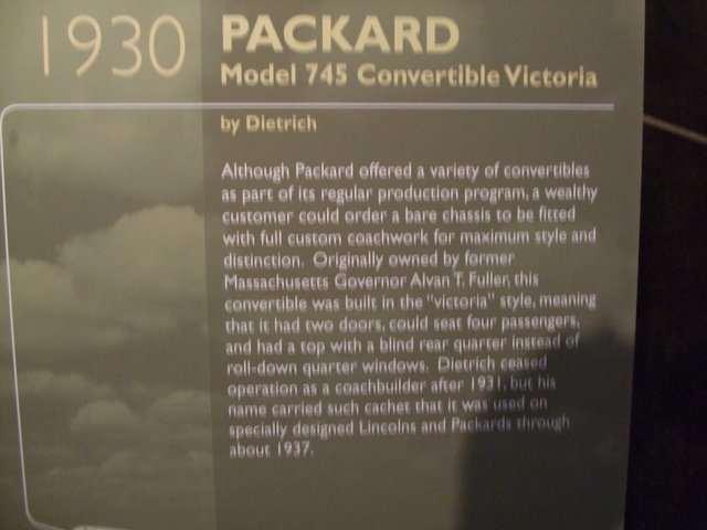 30 745 Dietrich Convertible Victoria