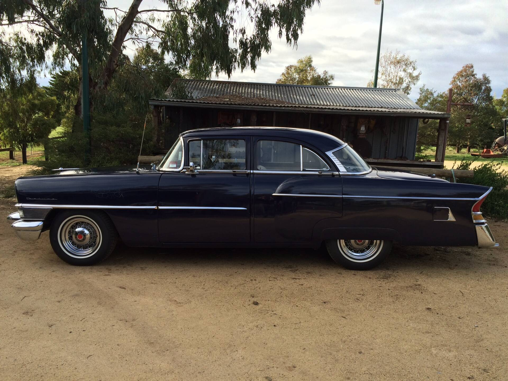1956 Clipper with Packard Wire Wheels