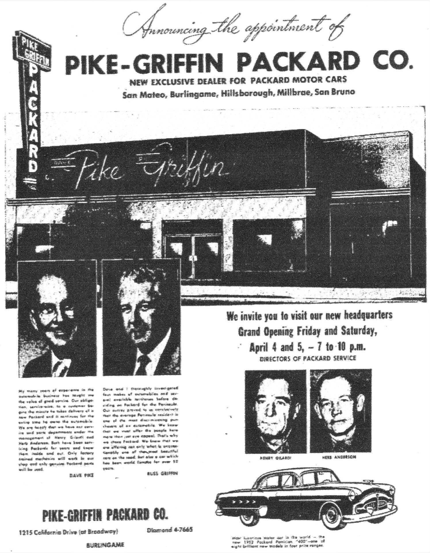 Pike-Griffin Packard Co.