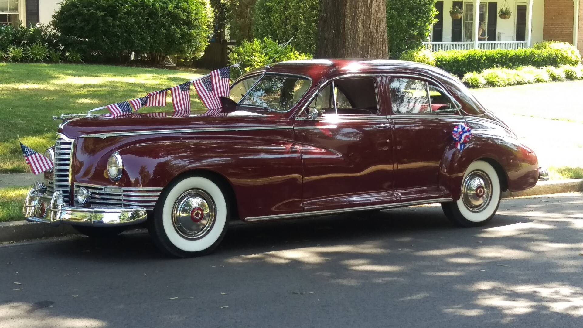 July 4th 2020 Parade Packard