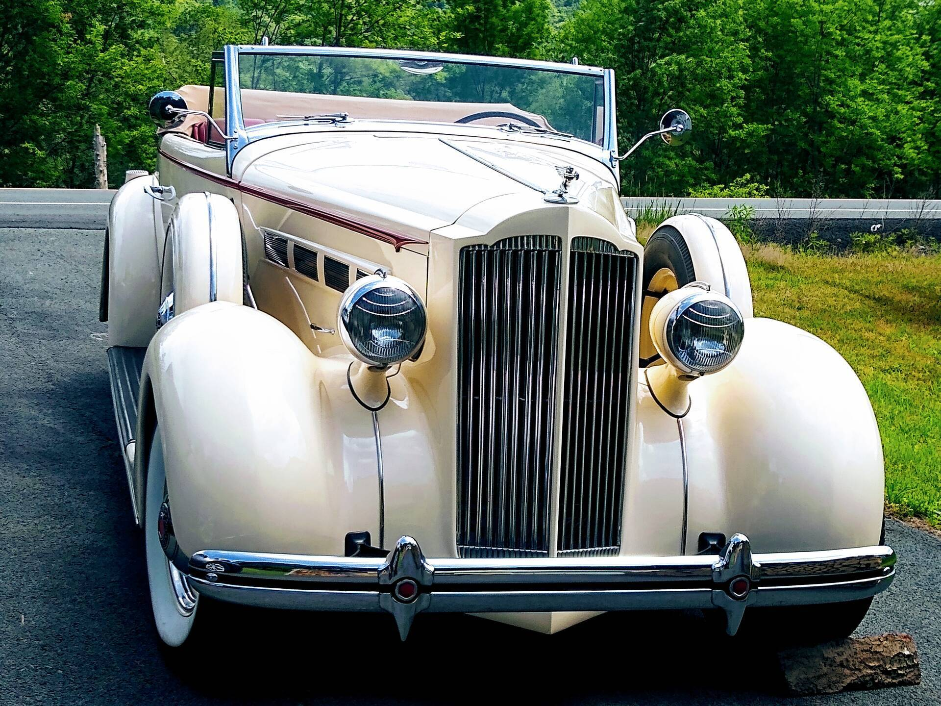 1937 Packard 120 Convertible